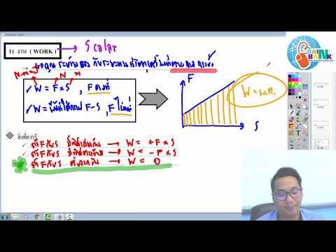 BrainBank ฟิสิกส์ ม.4 งานและพลังงาน ( 1/5 )