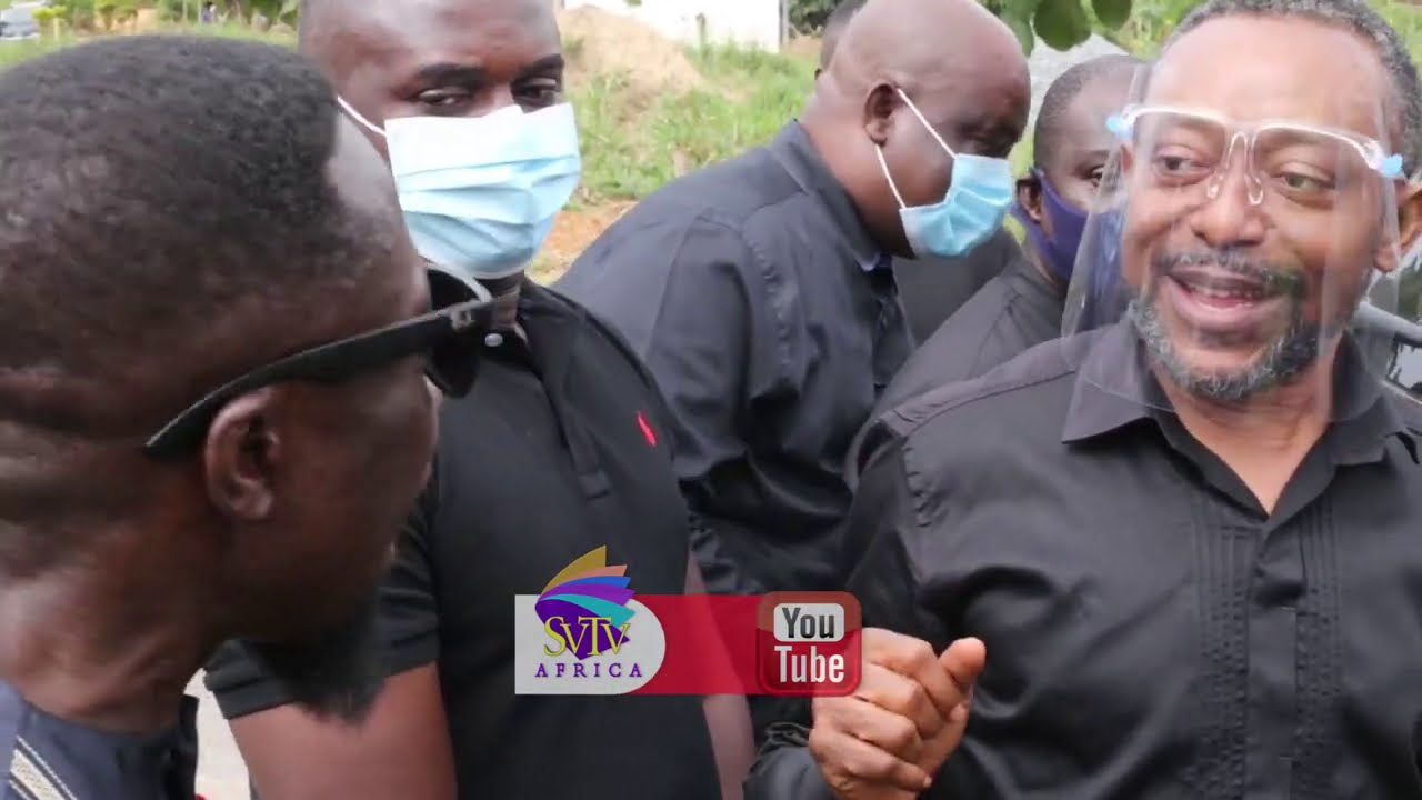 Rev.Owusu Bempah, SP Kofi Sarpong, Koo Fori & Others At Kumchacha Mother's Funeral Reception