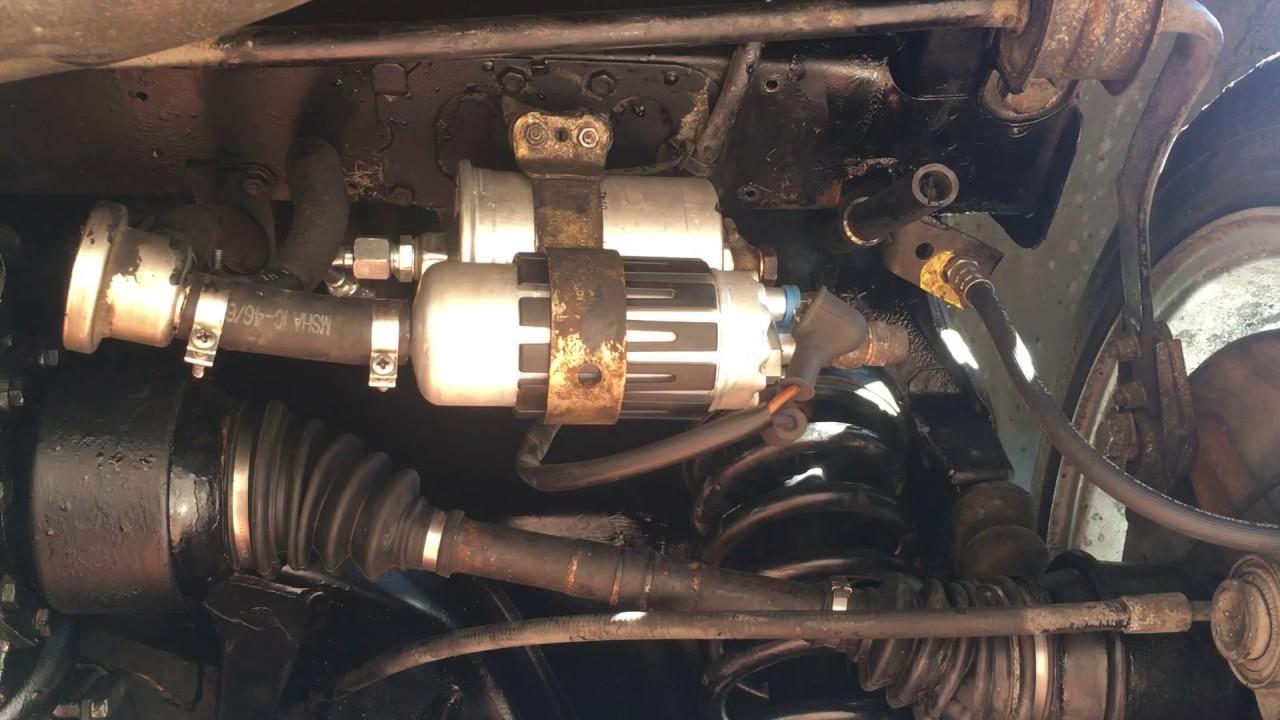 1984 500SEL w126 NEW fuel pump sound  YouTube