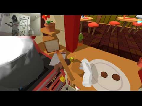 Heather Plays Vive: Job Simulator - Chef: Health Inspectors,