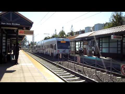 VTA Light Rail @ San Jose Diridon Station California Valley Transportation Authority