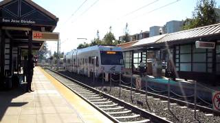 VTA Light Rail @ San Jose Diridon Station California Valley Transportation Authority