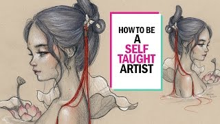 HOW TO BE A SELF TAUGHT ARTIST 🎨 Studio Sessions Ep. 5