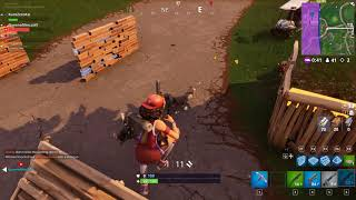 Fortnite Clip: Saving my team-mate in a hectic battle!