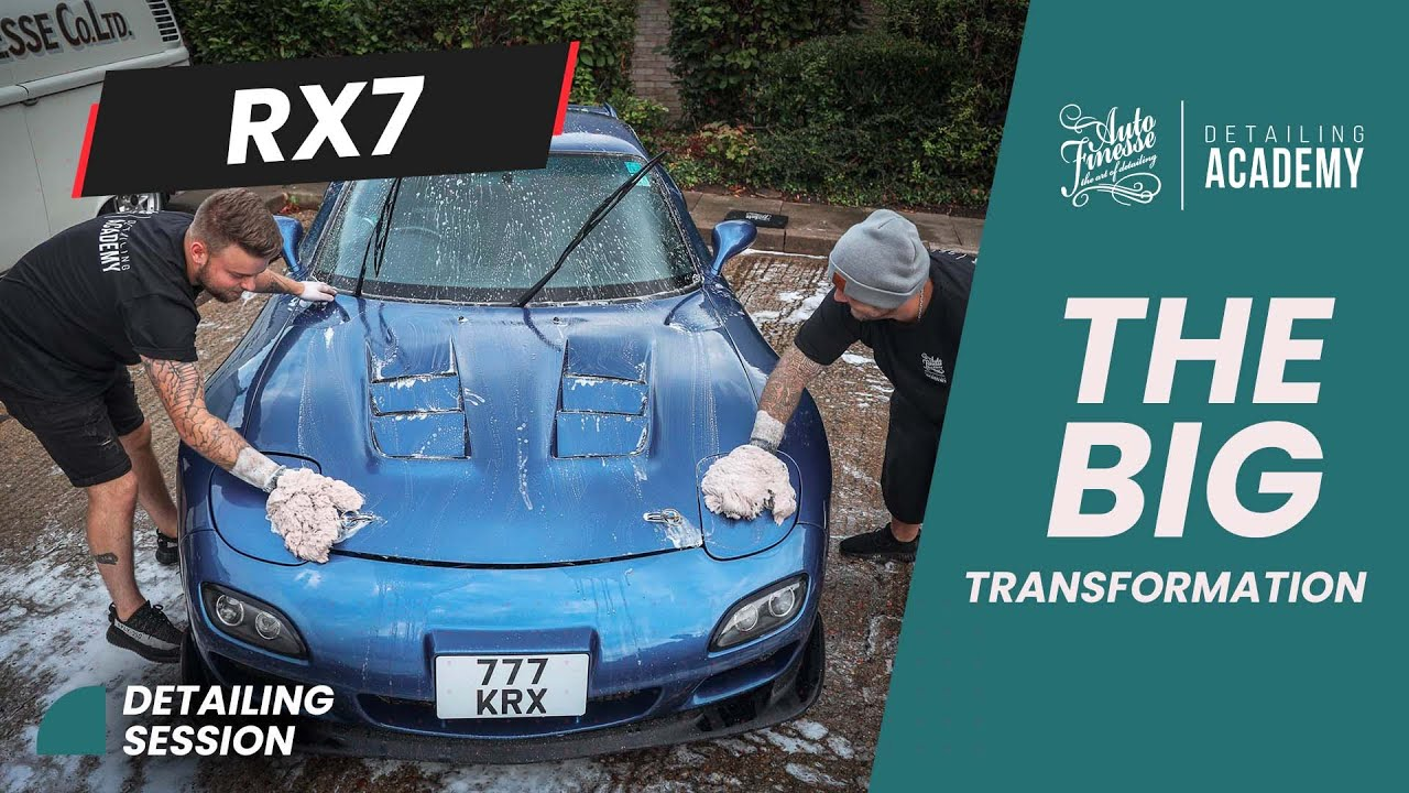 Auto Finesse - The Big RX7 transformation detail