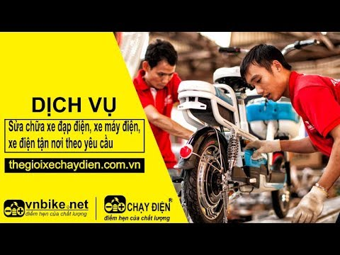 Phim ngắn sửa chữa xe đạp điện, xe máy điện, xe điện tận nơi theo yêu cầu