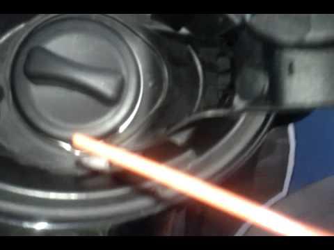 How to fix a fuel cap mercedes most models youtube for Mercedes benz gas cap