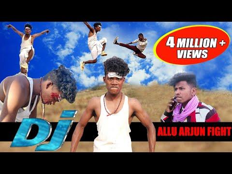Dj action spoof allu Arjun fight || the comedy kingdom.