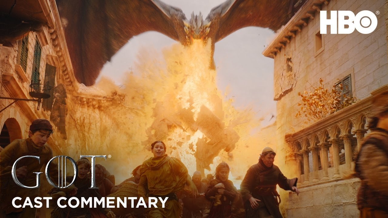 Game of Thrones | Season 8 Episode 5 | The Mad Queen (HBO) - Emilia Clarke and others discuss Daenerys' destruction of King's Landing.
