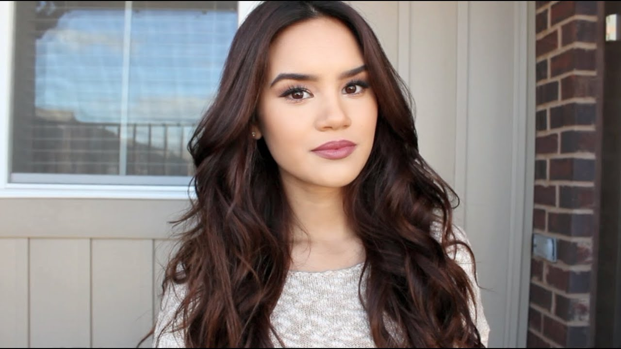 Tousled Waves Hair Tutorial Youtube