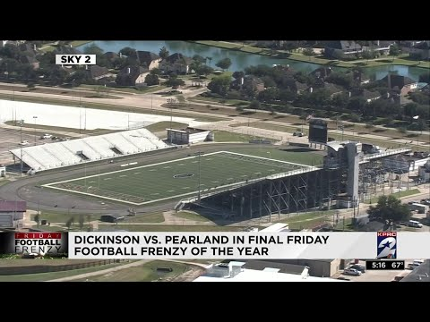 Dickinson vs. Pearland in final Friday Football Frenzy of the year