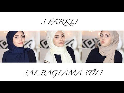 3 Pratik Şal Bağlama Stili  | Hijab Tutorial