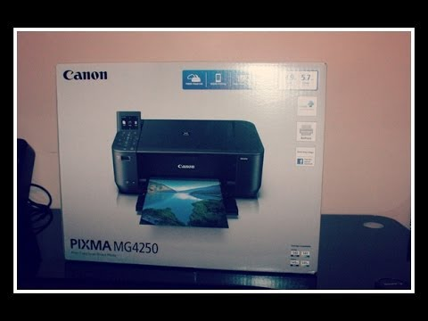 Canon Pixma Mg4250 Wireless All In One Inkjet Printer