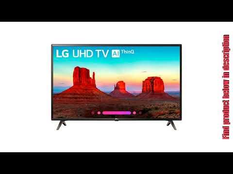 "LG 55UK6300 55"" UK6300 Smart 4K UHD TV (2018) with Wall Mount + Cleaning Kit"