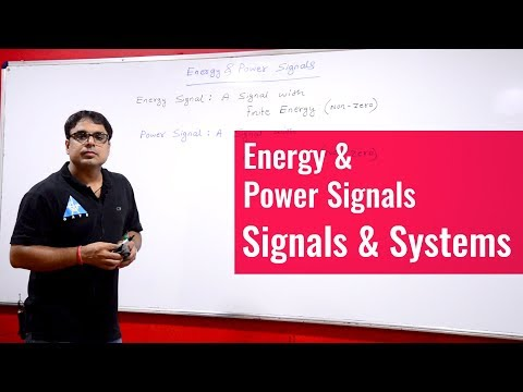 Lecture 12 | Energy & Power Signals | Signals & Systems