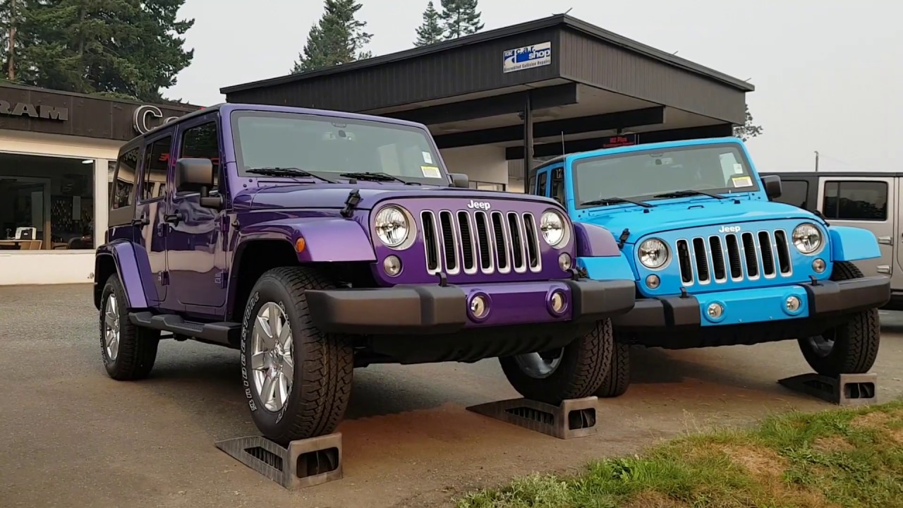 2017 jeep wrangler unlimited sahara extreme purple pearl. Black Bedroom Furniture Sets. Home Design Ideas