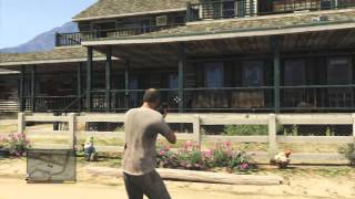 Lets Play GTA V Part 9 Burning Down Farm House