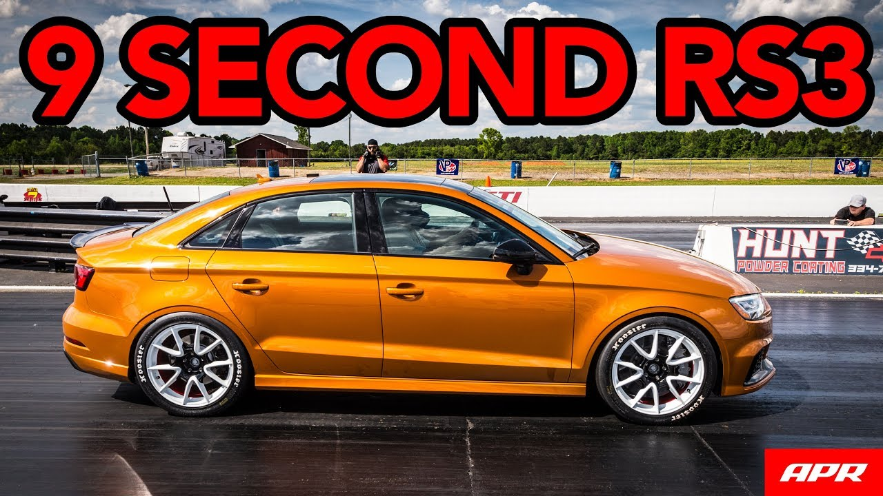 This 600 Hp Audi Rs3 Is A Sub 10 Quarter Mile Car