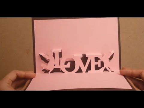 Valentines Day Pop Up Card Tutorial Angels Carry Messages Of