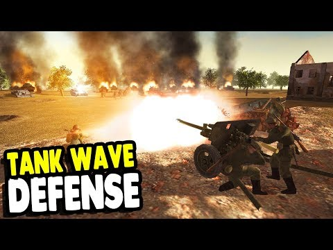 WRECKING Tank INVASION with EPIC FORTRESS Last Stand | RobZ | Men of War: Assault Squad 2 Gameplay