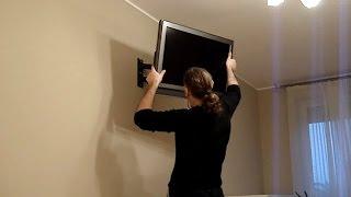Montaż uchwytu telewizora LCD, LED, Plazma