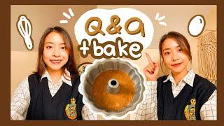 Trả lời câu hỏi về mình và du học Canada + nướng bánh bí ngô *fail* 👩🏻🍳🎃 | Q&A + BAKING 🌻