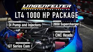 Supercharged Lingenfelter LT4 1000 HP Package