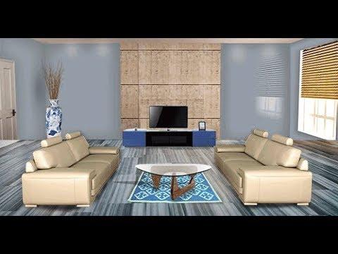 Milople visualizer for living room design youtube for Room design visualizer