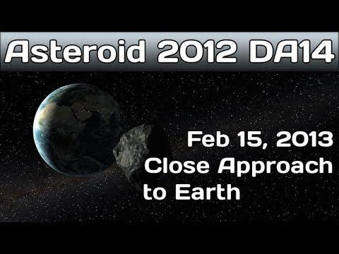 NASA JPL Live - ASTEROID 2012 DA12