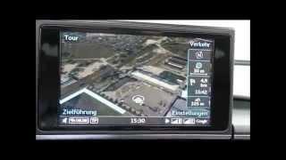 Audi A6: MMI Navigationsystem - Facelift 2014