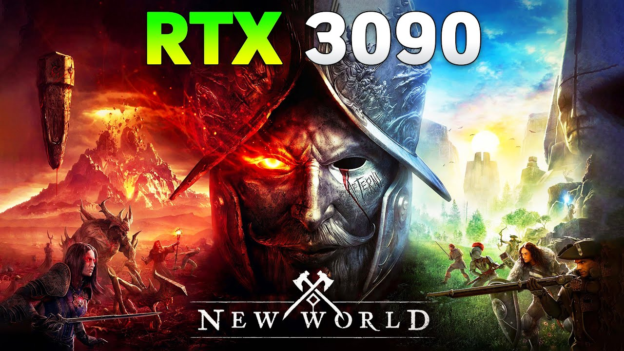 New World on RTX 3090 l 4K l Will the Graphics Card Survive?