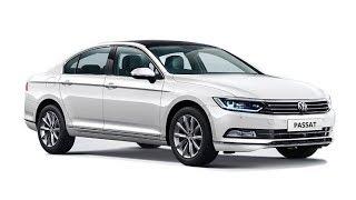 2018 Volkswagen Passat GTE car interior and exterior geometry