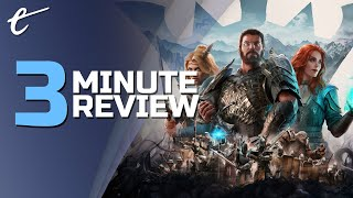 King's Bounty II | Review in 3 Minutes (Video Game Video Review)