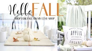 Fall Decorating Ideas ~ Fall Decor 2019 ~ Fall Candles 2019 ~ Fall Pillow Covers