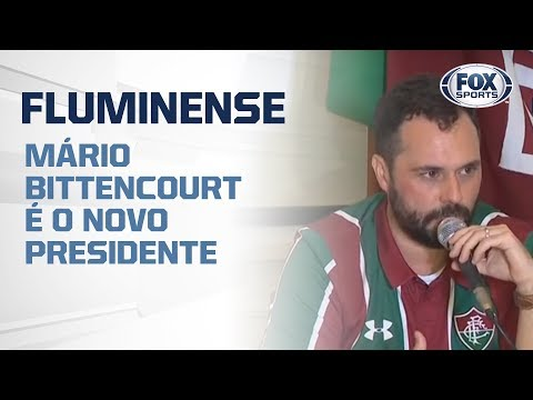 AO VIVO! MÁRIO BITTENCOURT É O NOVO PRESIDENTE DO FLUMINENSE