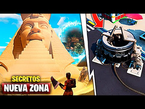 Nueva Zona Secreta Sale De La Grieta 'Centro Comercial Desaparece' | Fortnite Battle Royale