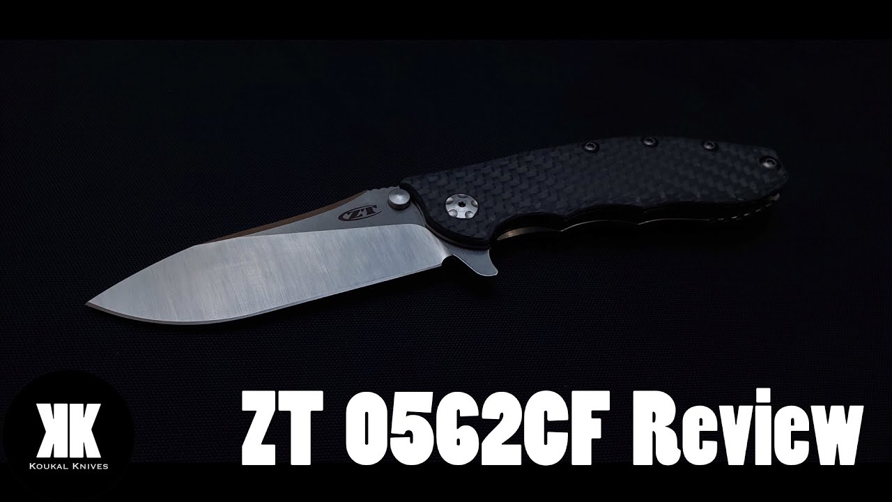 Repeat ZT 0562CF Review - Best Knife Under $250?? by Koukal