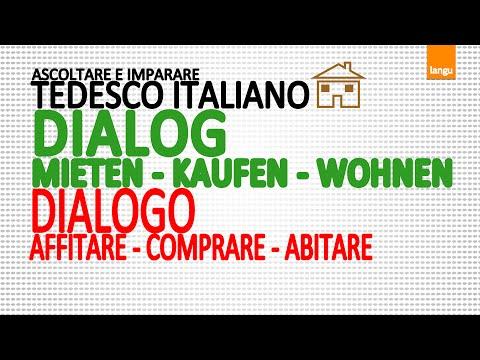 Italienischkurs - Dialog-Sätze - Immobilien / Corso tedesco italiano - dialogo - immobile