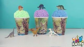 プラチック粘土 ❁◕ ‿ ◕❁ 最新の動物世界を発見する子供たち ❁◕ ‿ ◕❁ 七...