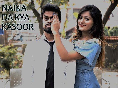 Naina Da Kya Kasoor Dance Cover ft. Archita Saha | Andhadhun | Amit Trivedi | Ayushmann Khurana |