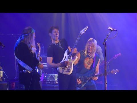 STEVE VAI+STEVE MORSE+ULI JON ROTH+ERIC SARDINAS (JAM) Hey Joe GUITARE EN SCENE 2014