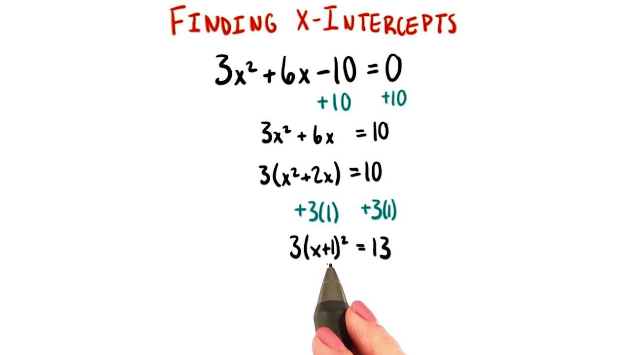Complete The Square College Algebra