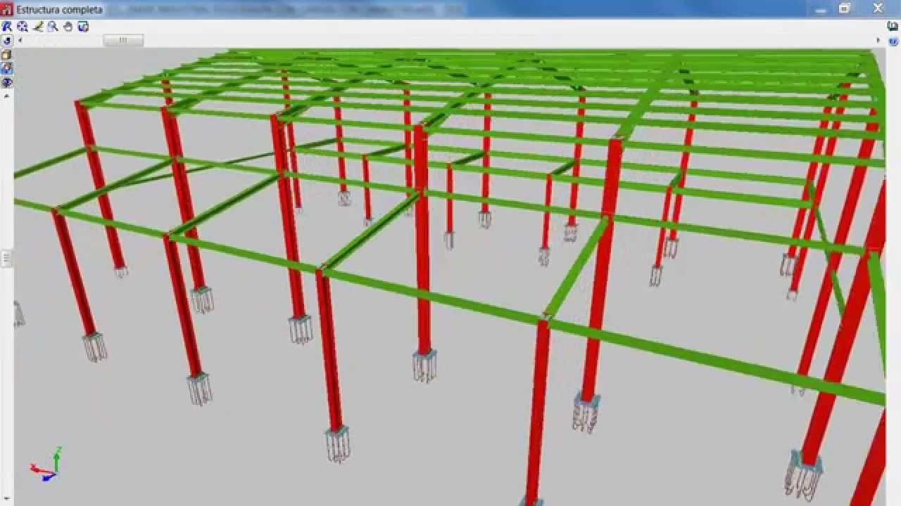 CALCULO DE ESTRUCTURAS METALICAS CON CYPE 3D HONDURAS - YouTube