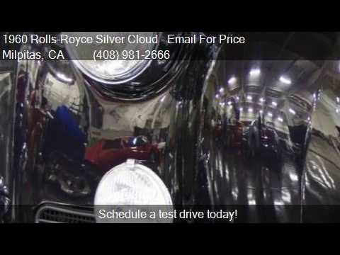 1960 Rolls-Royce Silver Cloud  for sale in Milpitas, CA 9503