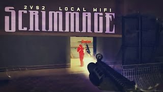 Modern combat 4 : 2v2 Local WiFi Scrim | KingSid