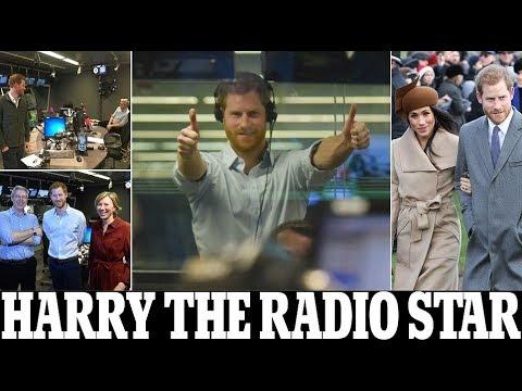 Prince Harry tells Radio 4 listeners that Meghan Markle had a 'fantastic' Christmas at Sandringham