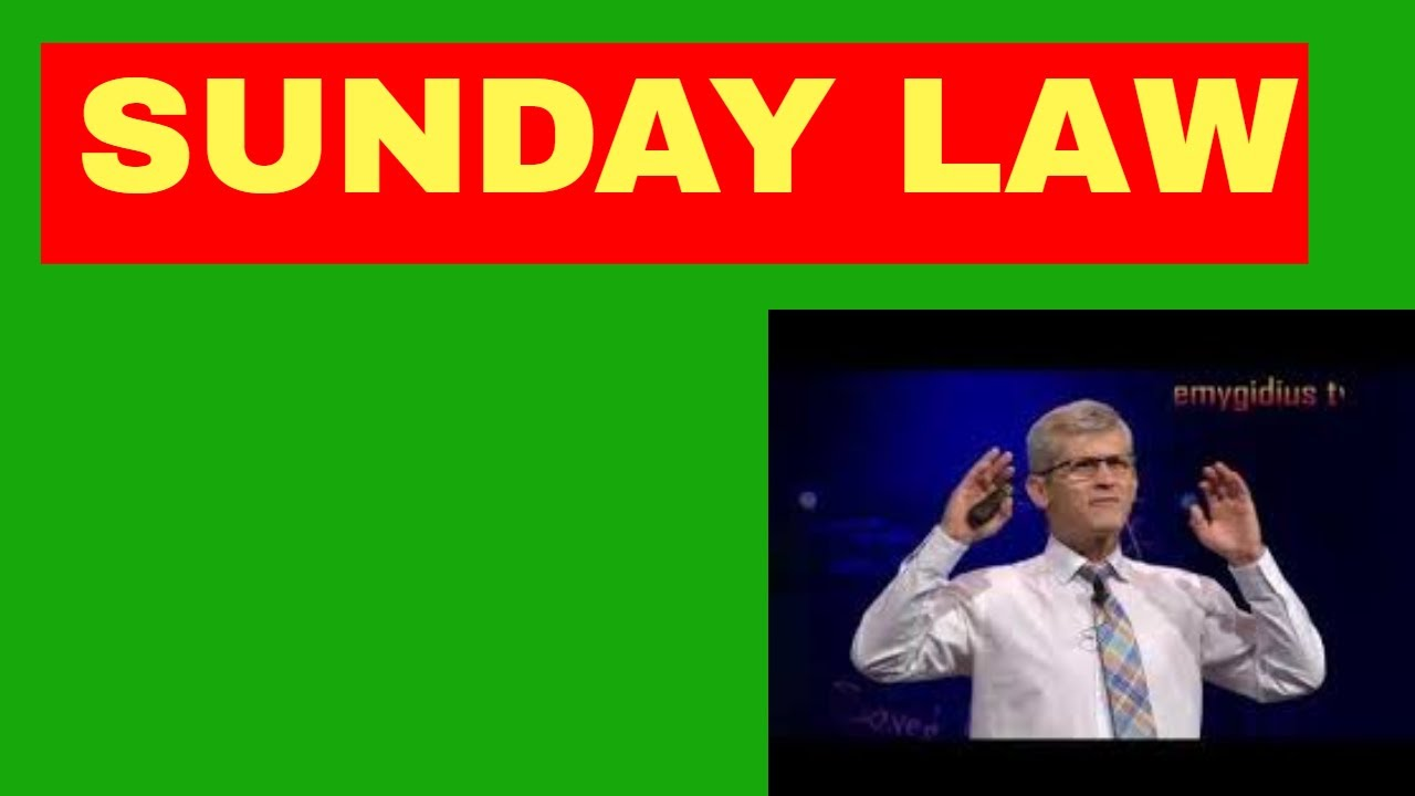 HOW SUNDAY LAW WILL BE ENFORCED BY GVT-PAVEL GOIA