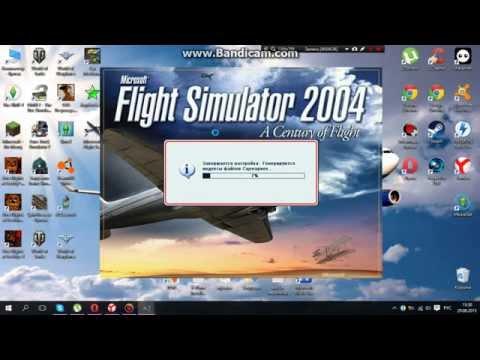 Как установить самолёт в игру fs2004