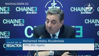 Mohamed Abdou Bouderbala, PDG d'Air Algérie