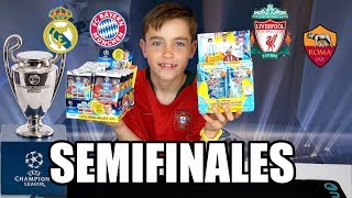 SEMIFINALES CHAMPIONS LEAGUE CON ADRENALYN XL VS MATCH ATTAX